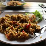 gluten-free turkey stuffing with apples pecans cranberries