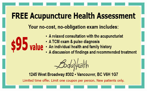 Free Acupuncture Coupon