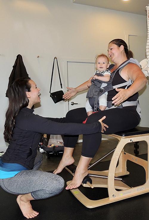 Postnatal Pilates in Vancouver