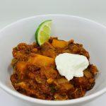Zesty vegetarian chipotle chili with butternut squash recipe bodahealth