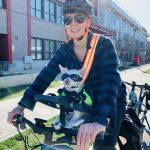 Biking with Chewy - how to avoid sports injuries in Vancouver